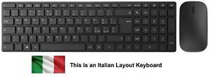 Microsoft Designer Wireless Bluetooth Keyboard & Mouse - Italiano Tastiera