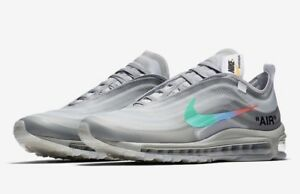 Details about Off White x Nike Air Max 97 Menta size 44 EU10 US