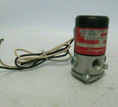 Humphrey T062-4E1-70 12VDC Solenoid Valve