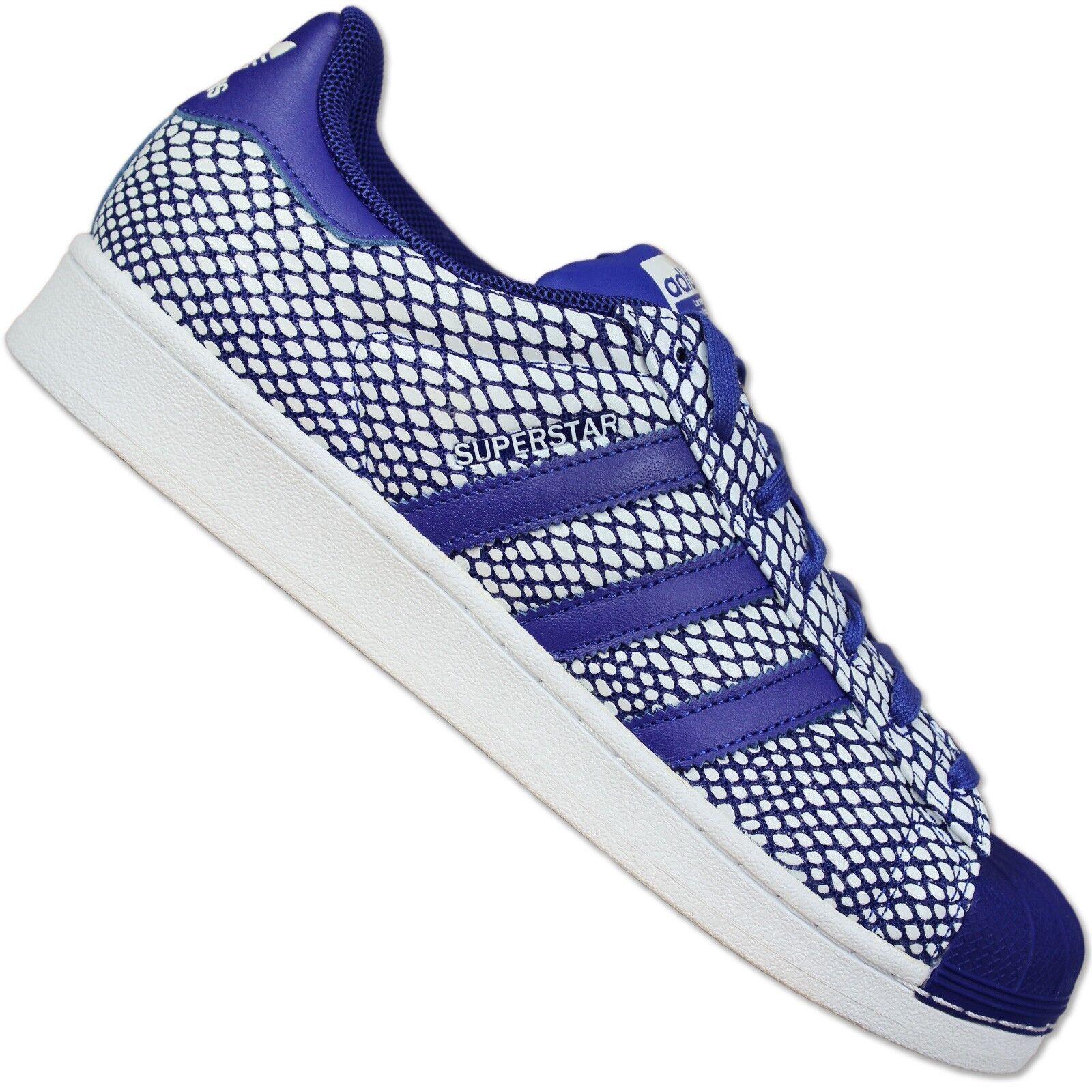 ADIDAS ORIGINALS cortos superstar 80s Snake Pack Cuero cortos ORIGINALS zapatos s82729 azul 49b04f