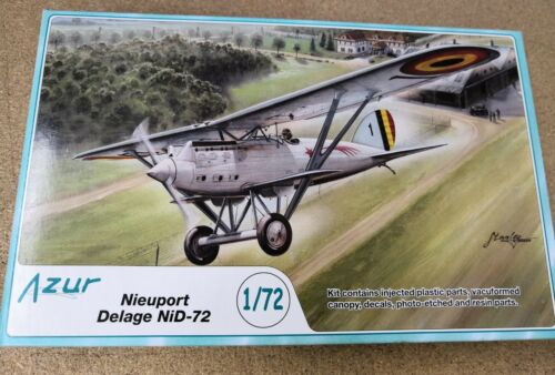 Nieuport Delage NiD 72 Azur A069 1:72 Model Kit