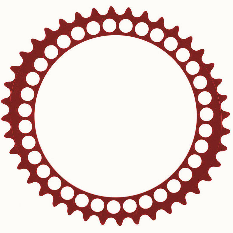 Redor Q-Rings BCD130x5 39T Inner Oval Chainring Red