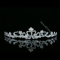 Bridal Party Wedding Veil Rhinestone Crystal Tiara 5522