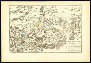image is loading antique map battle belgium hoei huy lesky vignamont