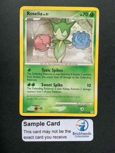 Base SetPokemon Card Roselia 96//130 CommonDP