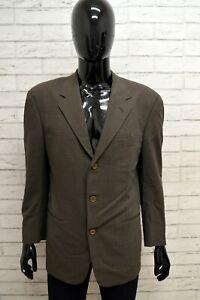 Giacca-Uomo-TRUSSARDI-Taglia-Size-48-Maglia-Blazer-Jacket-Shirt-Man-Lana-Quadri