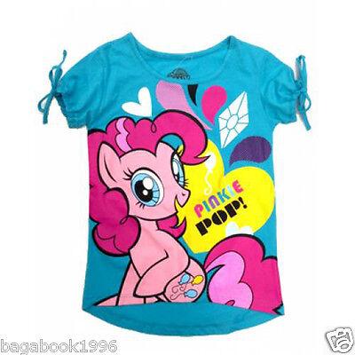 My Little Pony Pinky Pop Girl's Junior Tee T-shirt NEW   MLP14