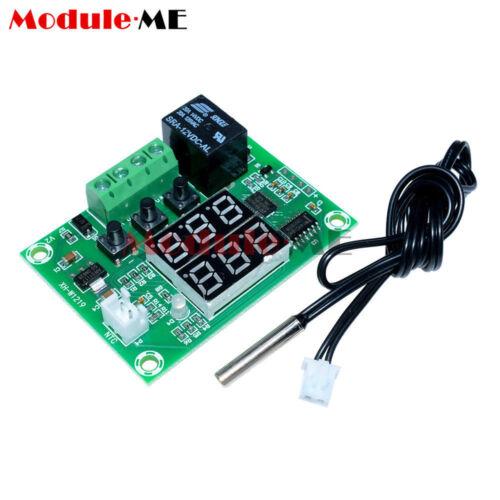 B L40 Digital 12V Dual LED Relé Temporizador de ciclo de múltiples funciones Interruptor de tiempo de retardo