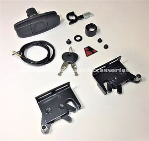 Leer Truck Cap And Tonneau Cover Handle 113436 And Latches 83514 83515 Combo Ebay