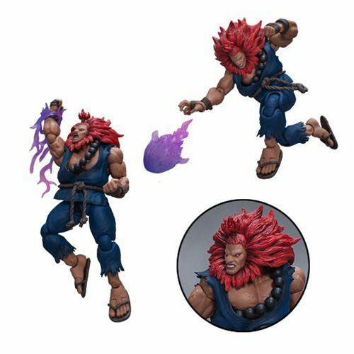 Storm Collectibles Street Fighter V V V NEW  Akuma  Action Figure 1 12 Scale d50522