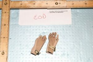 1//6 Scale Modern Era Leather Gloves Soldier Story Navy EOD