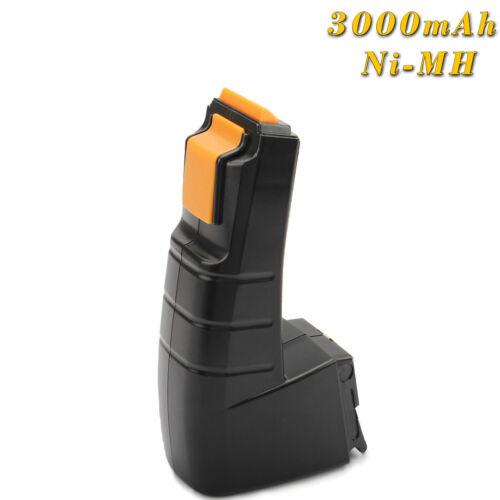 12V 3.0AH Ni-MH Batterie Pour Festool CCD12ES-C CCD12FX CDD12ES CDD12ES BPH12C