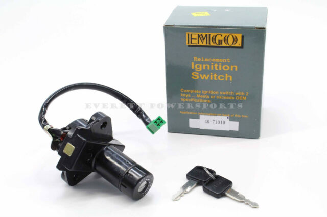 New Ignition Switch For Many Early Suzuki GS 450-1100 Keys Lock Read Notes #B58