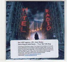 (EC481) Chris King & Hotel Radio, True - 2013 DJ CD