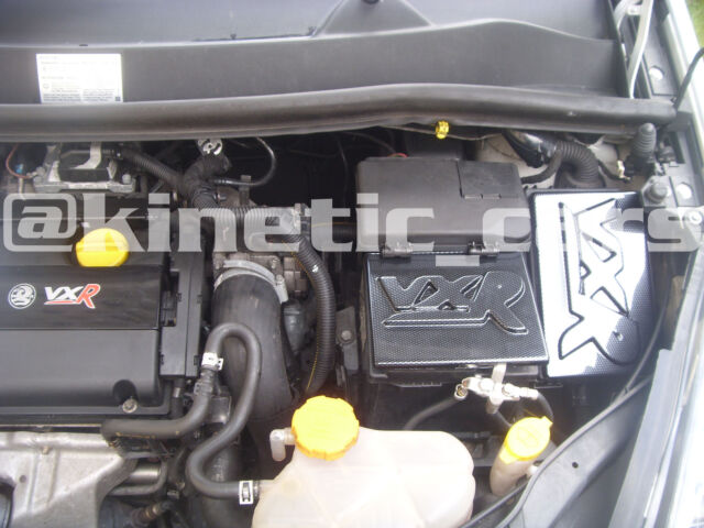vauxhall corsa d vxr carbon fibre effect battery and fusebox covers