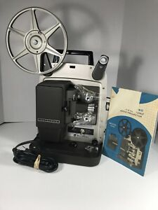 Bell-amp-Howell-Super-Eight-Design-346A-Autoload-8mm-film-projector-Tested-works