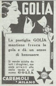 Y3353-Caramelle-GOLIA-Pubblicita-d-039-epoca-1935-vintage-advertising