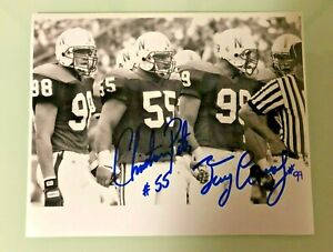 NEBRASKA-FOOTBALL-CHRISTIAN-PETER-55-amp-TERRY-CONNEALY-99-SIGNED-PHOTO-CAPTAINS