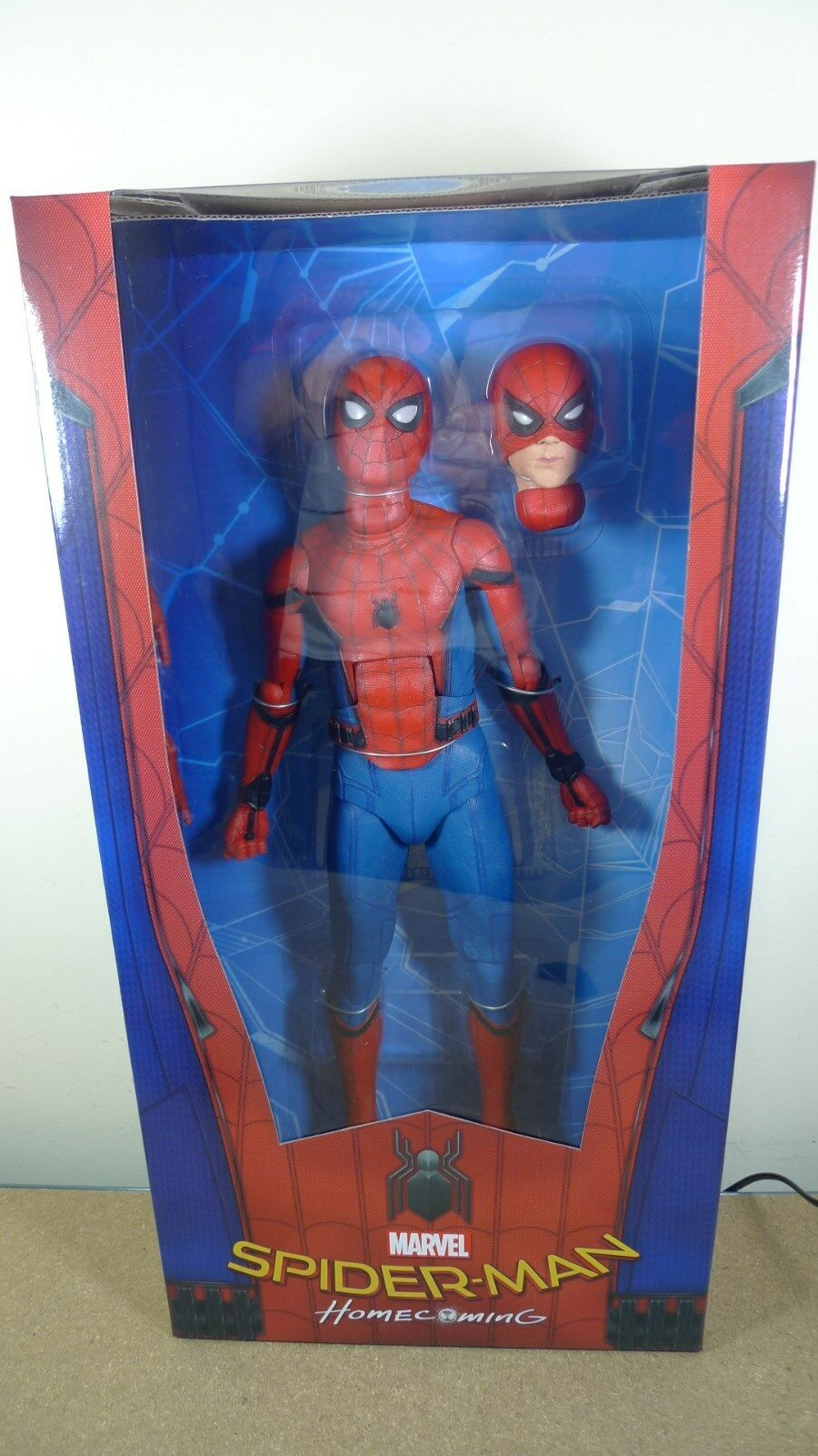 Neca 1 4 Escala Spider-Man regreso a casa MARVEL Comics Acción Figura En Stock