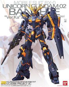 Rx-0 Gundam Unicorn 02 Banshee Ver.   Ka Gunpla Mg Master Grade 1/100 Bandai