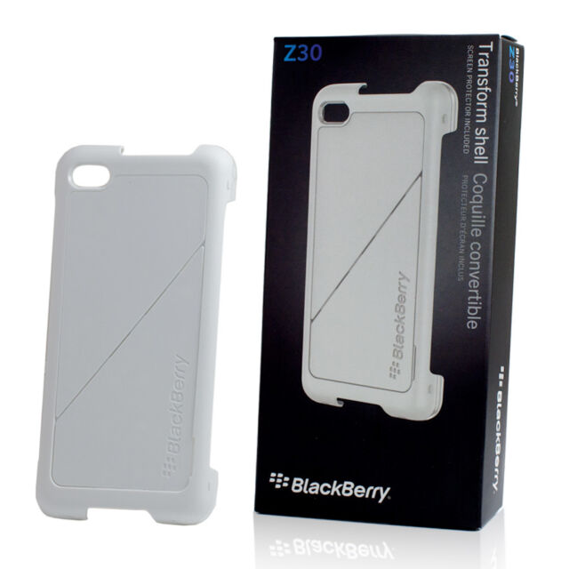 Blackberry Z30 COQUE - Transform Rigide - Blanc Authentique Housse