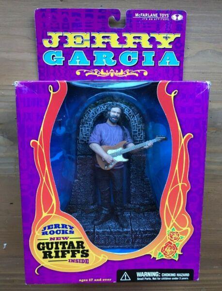 """Distingué Jerry Garcia """"jerry Rocks"""" New In Box Figure Mcfarlane 2001 Facile à RéParer"""