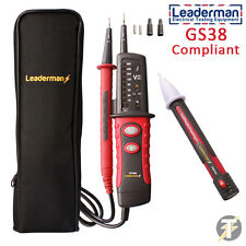 Leaderman TPT900 LED 2 Pole Voltage & Continuity Tester + Voltstick, LDMC1 Case