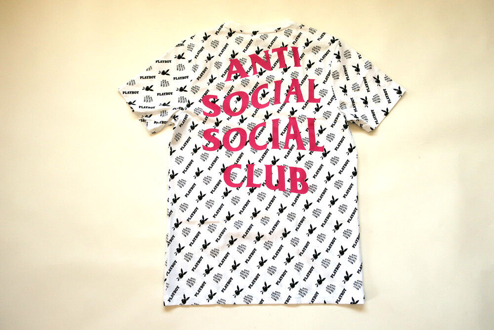 Anti social  social club X Jugarboy Tee Camiseta M  perfecto
