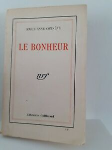 Signed Marie Anne Comnene The Happiness Nfr Gallimard 1932 Non Cut Out