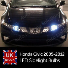 Honda Civic 2005-2012 8 FN2 Type R Xenon White LED Side Light sidelights Bulbs