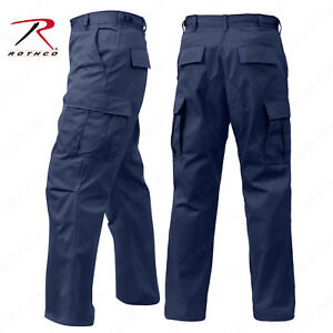 latest design special section cheap price Details about Men's Navy Blue Fatigue Pant - Rothco 6 Pocket Tactical  Military BDU Work Pants