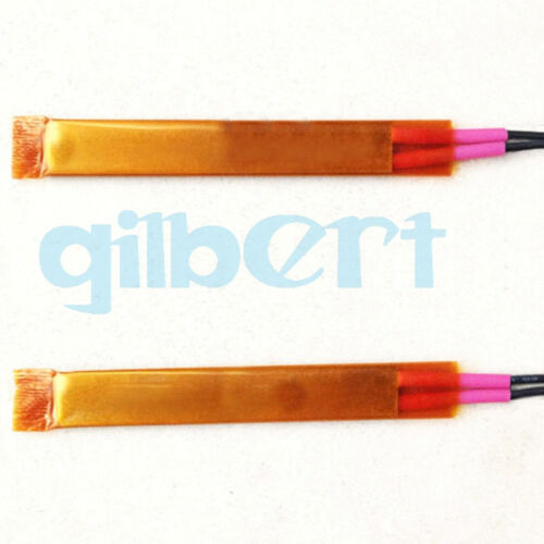 2PCS 75x15x3.5mm PTC Heating 12V-220V 20W-120W Thermostat Aluminum Thin Film