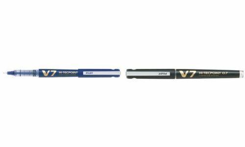 PILOT Tintenroller V7 Hi-Tecpoint nachfüllbar blau