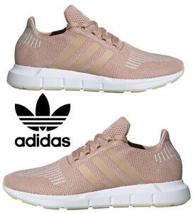 Adidas-Originals-Swift-Run-Sneakers-Women-039-s-Casual-Shoes-Running-Ash-Pearl