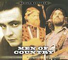 Men of Country: Triple Feature [Digipak] by Johnny Cash/Waylon Jennings/Willie Nelson (CD, Nov-2009, 3 Discs, Sony BMG)
