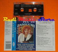 MC IVA ZANICCHI Vi dedico le mie piu'belle canzoni vol.2 1996 cd lp dvd vhs *