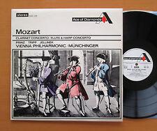 SDD 155 Mozart Clarinet Flute Harp Concertos Munchinger Decca (= SXL 2054) NM/EX