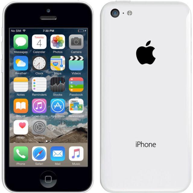 Neuf Smartphone Apple iPhone 5c - 16 Go - Blanc - Téléphone Portable Débloqué