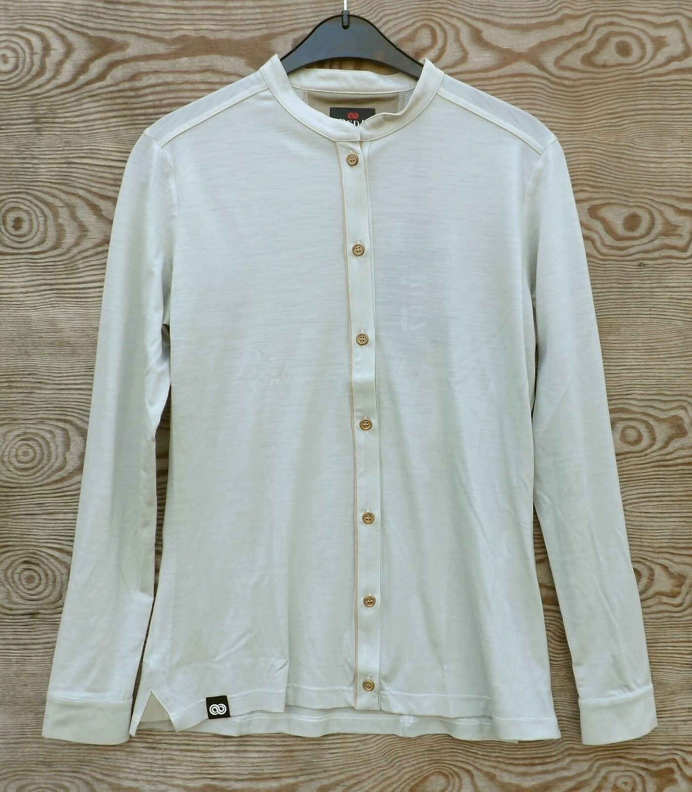 rotA Rewoolution Roho   Langarm-Damenhemd aus Merinowolle  Größe M