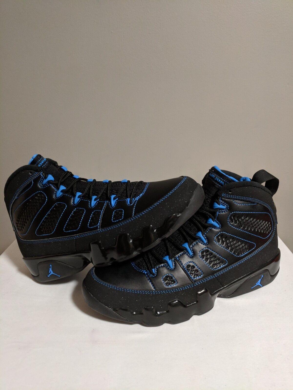 Jordan Retro 9 Foto Azul Negro Inferior Ds