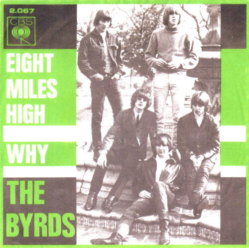 BYRDS T-SHIRT Psychedelia. 8 MILES HIGH