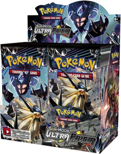 36 Packs Pokemon Sun /& Moon Ultra Prism Booster Box