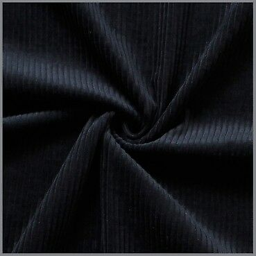 schwarz grob 110 cm Fertigbündchen
