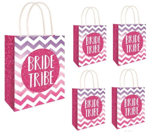 BRIDE TRIBE DESIGN HEN PARTY BAGS Girls Ladies Night Stag Do Goodies Favors UK