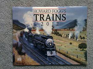 Howard Fogg's Steam TRAINS 2012 CALENDAR Illustrations for Reference Frame Craft
