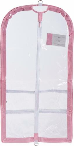 NEW Dance Garment Bag Clear colored sides COMPETITION outer pockets EXPANDABLE