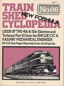 TRAIN-SHED-CYCLOPEDIA-66-1977-Locos-of-the-40s-50s-Railway-Mechanical-Engineer