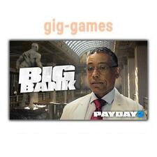 PAYDAY 2: The Big Bank Heist DLC PC spiel Steam Download Link DE/EU/USA Key Code