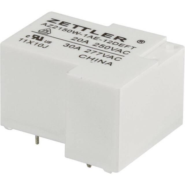 Zettler Electronics AZ2150W-1AE-12DEFT Relè per PCB 12 V/DC 30 A 1 NA 1 pz.