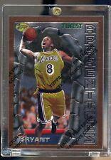 1996 96-97 Topps Finest #74 KOBE BRYANT Rookie Card RC w/ Peel Lakers